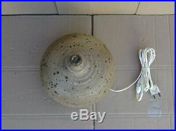 Pied de lampe boule en grès par GUSTAVE TIFFOCHE céramique année 50