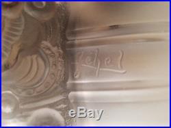 RARE lampe Art Deco verre de Georges Leleu signé Jehel French designer verrier