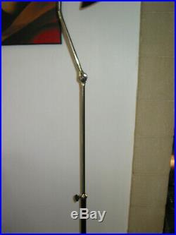 Rare Grand lampadaire lampe JUMO DIABOLO art déco vintage 1950 Hauteur réglable