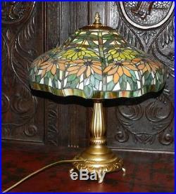 @ Rare Grande Lampe de style Tiffany @