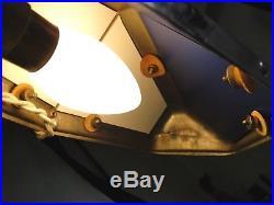 Rare Lampe Pirouett D'architecte Art Deco Style Indus Jielde Parfait Etat