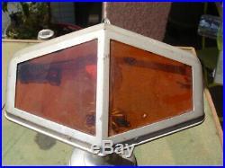 Rare Lampe Pirouett Modele Salon A Bi Color Ambre Diametre Base 155 MM