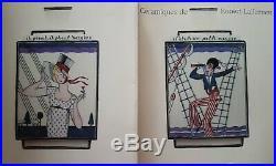 Rare Pied De Lampe Robert LALLEMANT Art Deco il pleut il pleut bergère, bouchaud