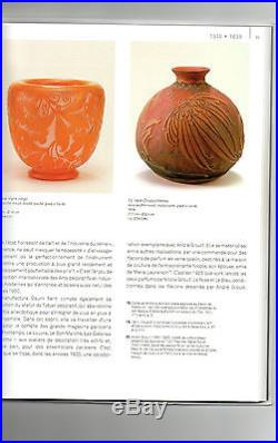 Rare lampe Daum art-deco, tulipe gravée Chrysanthemes, pied bronze, era Galle