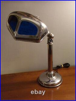 Rare lampe PIROUETT MOUCHE époque art déco 1930 Articulée à 2 bras, avec un bras