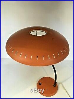 Rare modèle Lampe de table VINTAGE LOUIS KALFF pour Philips 1950-1959