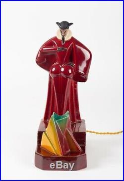 Robj Mephistopheles Faience Lampe Brule Parfum Boulogne/seine
