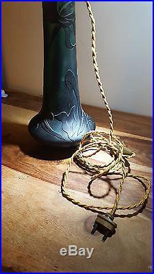 SEVRES. Grand pied de lampe. Arts décoratifs expertisé. XXème