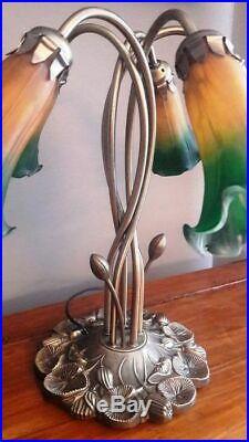 Superbe Lampe 5 Tulipes Style Art déco / Art nouveau datant des années 1950