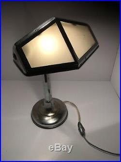 Superbe et ancienne lampe pirouette art déco