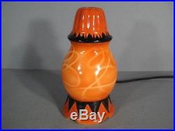 Veilleuse Art Déco Porcelaine De Rosenthal / Lampe Art Déco Epoque 1930