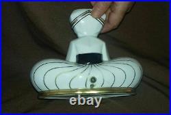 Veilleuse porcelaine limoges Art Deco Fakir Lampe Charles Serpaut