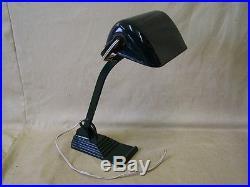 Vieille bureau lampe HORAX, Art Deco, architecte lampe, atelier lampe, Bauhaus