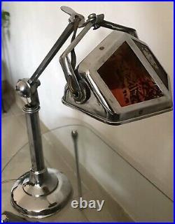 Vintage Lampe PIROUETT DE BUREAU art déco