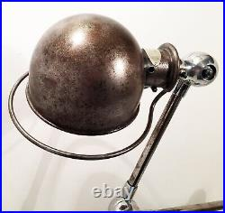 Vintage Lampe atelier JIELDE Industrial Workshop Floor Lamp 1950 era Gras Ravel