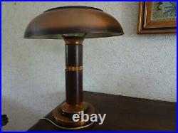 Vintage Lampe champignon Art-déco 1930